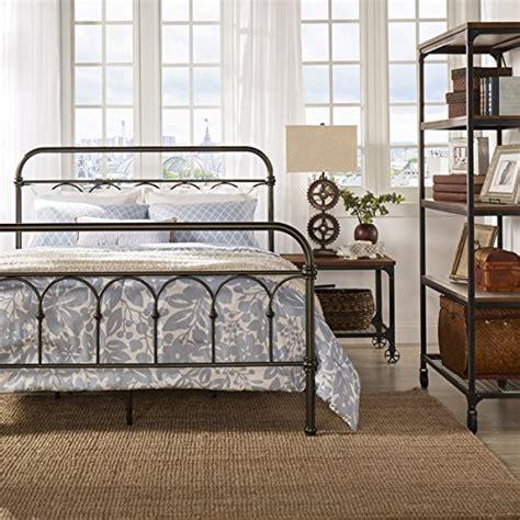 style metal bed frames vintage metal bed frame antique rustic bronze cast