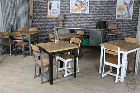 kitchen cafe table industrial inspired restaurant tables the eton