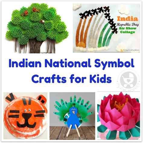 india crafts for indian national symbol crafts for