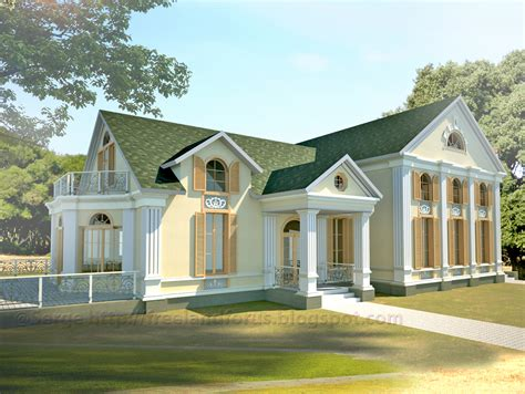 neoclassical house neoclassical house