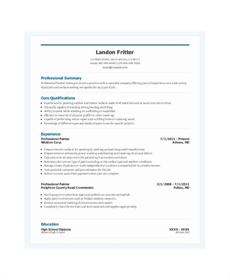spray painter cover letter auto spray painter resume sle