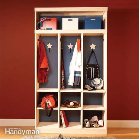entry way storage entryway storage and organizer family handyman