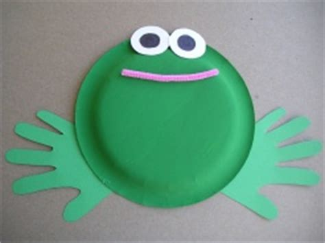 paper plate frog craft easy paper plate frog crafts preschool education for