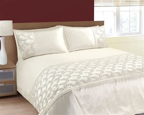 embroidered bedding sets size luxurious sparkling sequins and embroidered