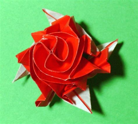 origami roses with stems stem origami 171 embroidery origami