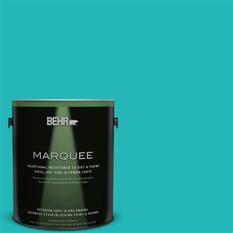 behr paint colors turquoise behr marquee 1 gal mq4 21 caicos turquoise semi gloss