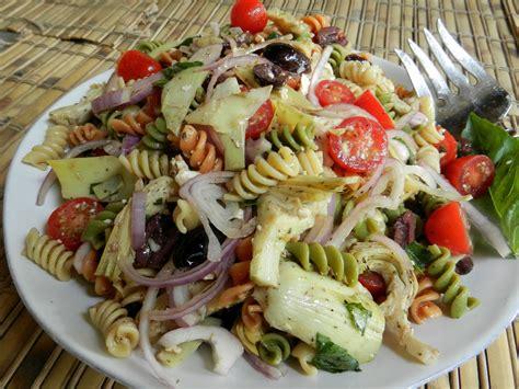 cold pasta dish cold rotini artichoke salad easy recipes and stuff