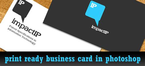 how to make a business card in photoshop cs6 how to make great ready business card in photoshop print