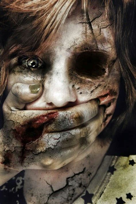 ideas scary 25 scary make up looks trends ideas 2015
