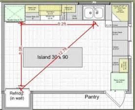 kitchen design work triangle kitchen remodel island design traffic work triangle