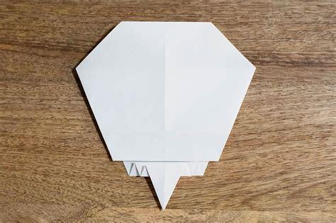 easy origami for boys easy origami skull all for the boys