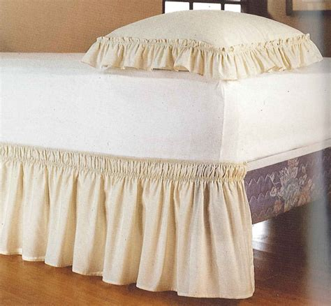 bed dust ruffle curtain bath outlet 18 inch dust ruffles