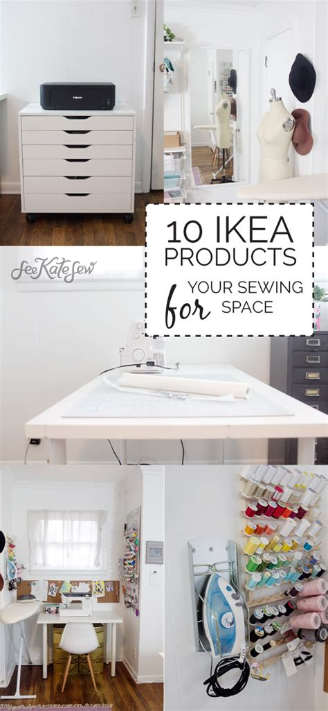 Diy Kitchen Makeover Ideas 10 ikea products for your sewing space see kate sew