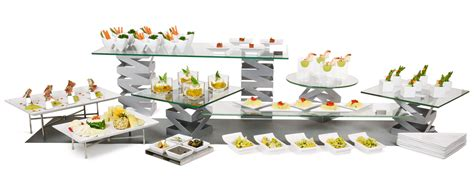 buffet table risers f s tabletopjournal the world s source for what s in