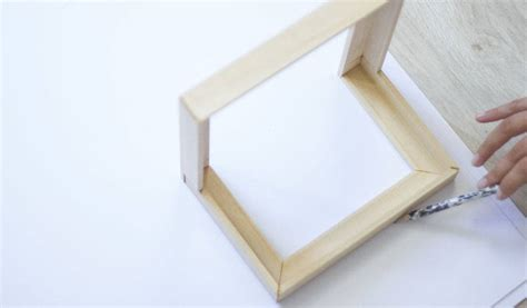 diy un cadre photo original comment fabriquer un cadre d angle 18h39 fr