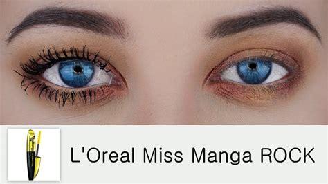 l oreal miss review l oreal voluminous miss rock mascara demo review