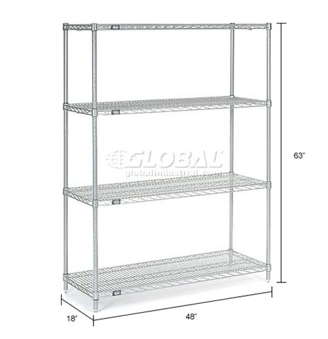 nexel wire shelving wire shelving stainless steel nexel stainless steel