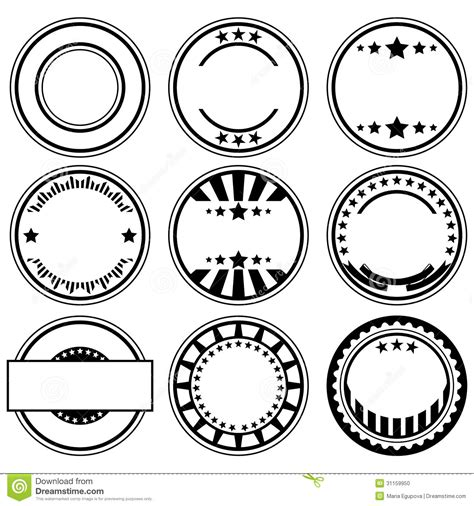 a rubber st creates what type of print rubber sts stock vector image of sign circle