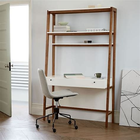 modern contemporary desk modern wall desk west elm