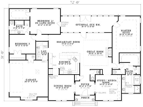 ranch house plans with 2 master suites plan 59638nd two master suites in 2018 wolfie 2 master bedrooms house plans