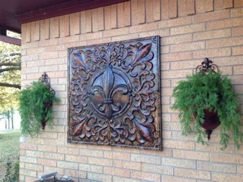 outdoor garden wall decor interesting options for outdoor wall decor to enhance the