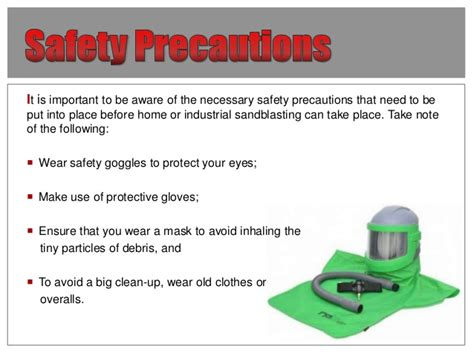 spray painting hazards and measures a step by step guide to the sandblasting process