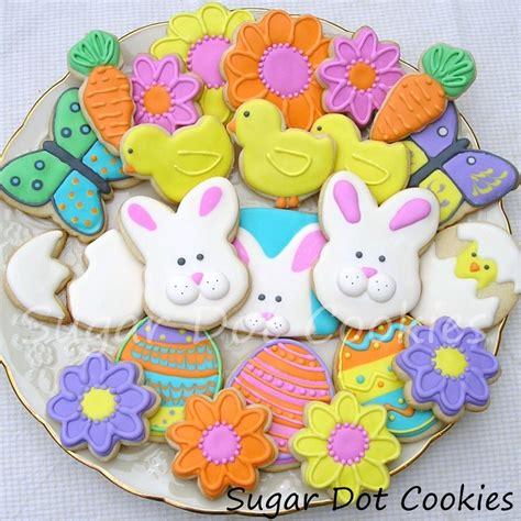 pictures of decorated sugar cookies easter cookies sugar dot cookies handmade
