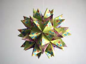 origami revealed flower origami kusudama revealed flower by andy chanwanttodraw