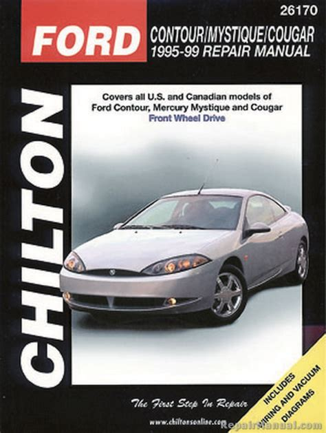 free auto repair manuals 1995 ford contour parental controls 1995 ford contour maintenance