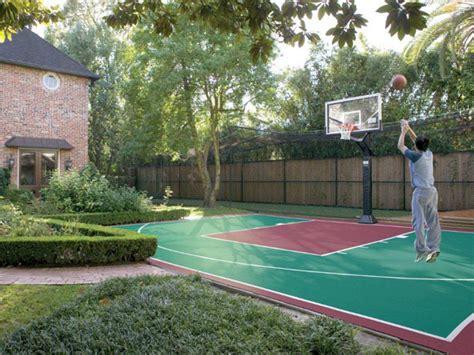 backyard sport courts backyard basketball courts in sport court 174 of