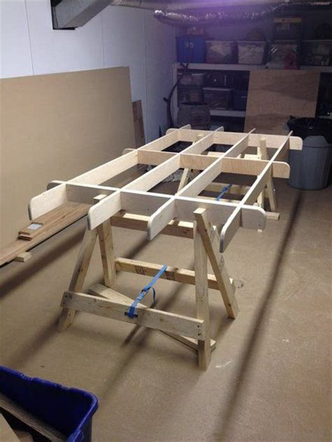 plywood woodworking projects knockdown plywood sawhorse plans woodworking projects