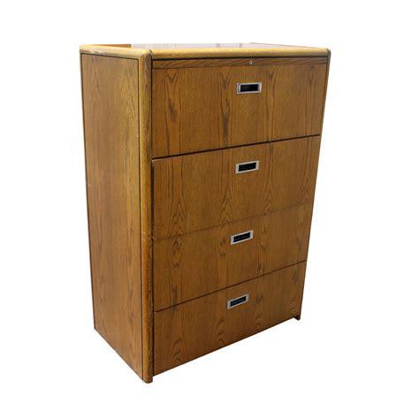four drawer file cabinet wood vintage four drawer wood file cabinet ebay
