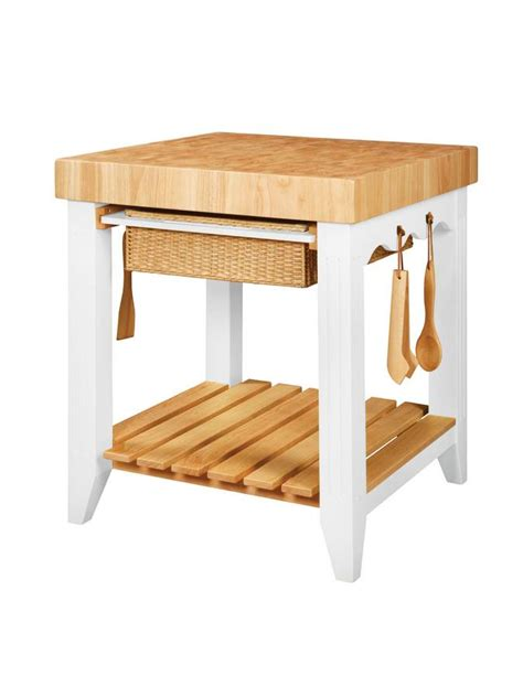 powell color story butcher block kitchen island colder powell color story white butcher block kitchen island