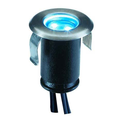 blue led lights 12v techmar astrum blue 12v led garden deck light