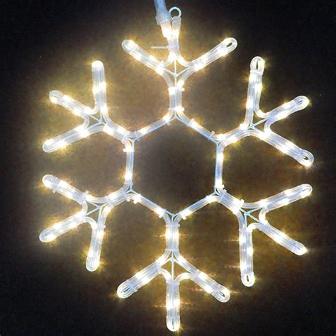 snowflake rope lights rope light snowflake 28 images 60cm aluminium outdoor
