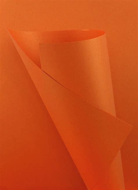 orange craft paper pearlescent paper orange 120gsm wl coller ltd