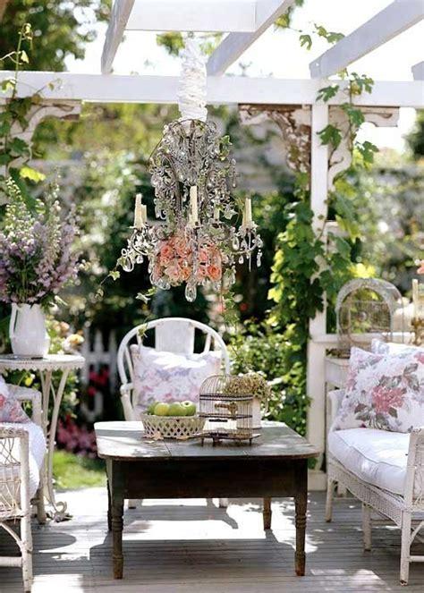 shabby chic outdoor furniture diy outdoor shabby chic top easy backyard garden decor