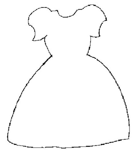 dress template for card 17 best images about paper dress crafts on