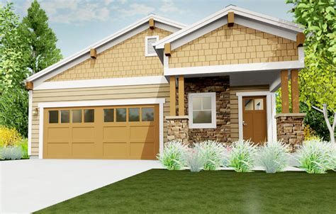 homes for narrow lots narrow lot bungalow 64414sc architectural designs house plans