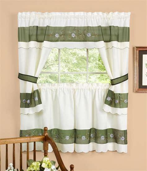 kitchen curtain sets berkshire curtain set country kitchen curtains