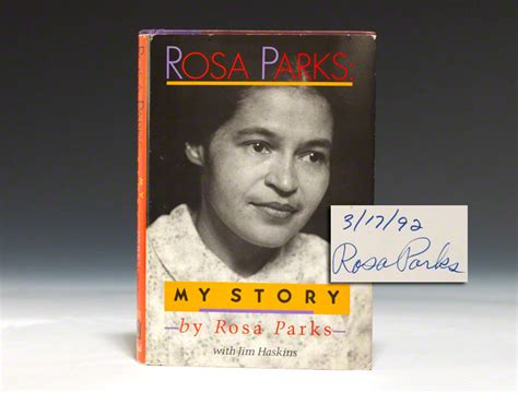 rosa parks picture book rosa parks my story edition signed bauman