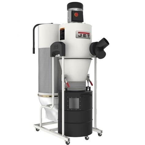 woodworking cyclone dust collection systems reviews jet 174 3hp cyclone dust collector rockler woodworking and