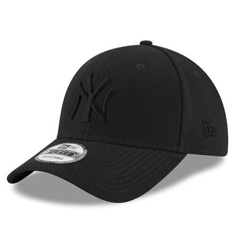 new era black on black new york yankees new era mlb black on black 9forty curve