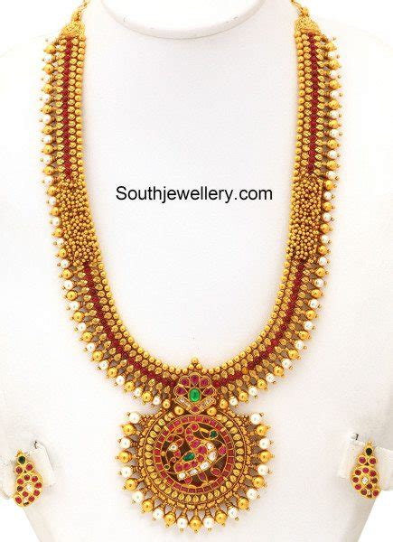 gold haram antique gold haram jewellery designs