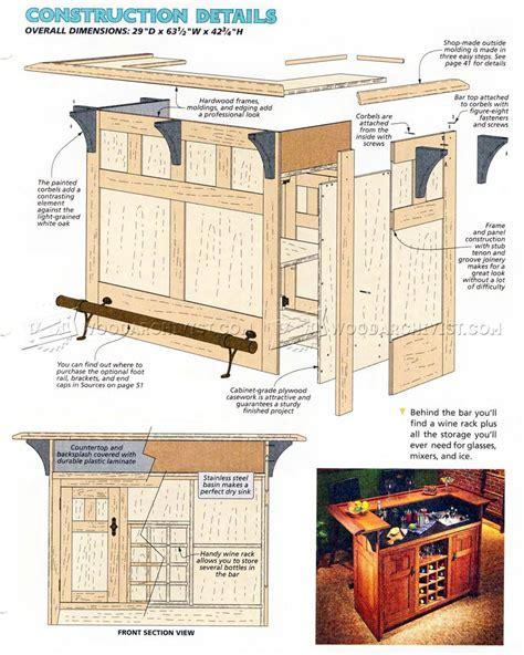 home plans free home bar plans woodarchivist