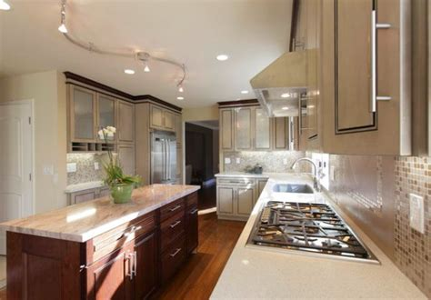 kitchen rail lighting gorgeous track lighting ideas for the contemporary home