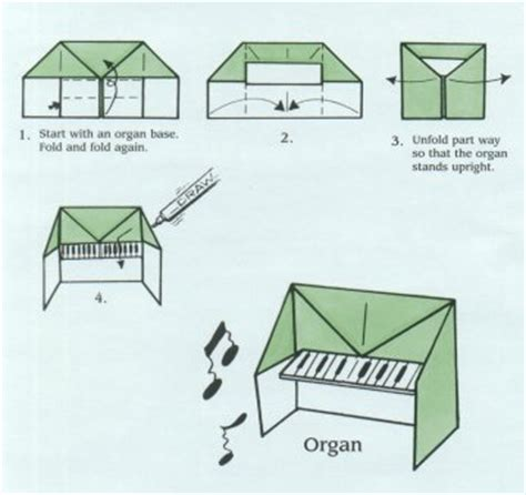 how to make origami piano ellasparty