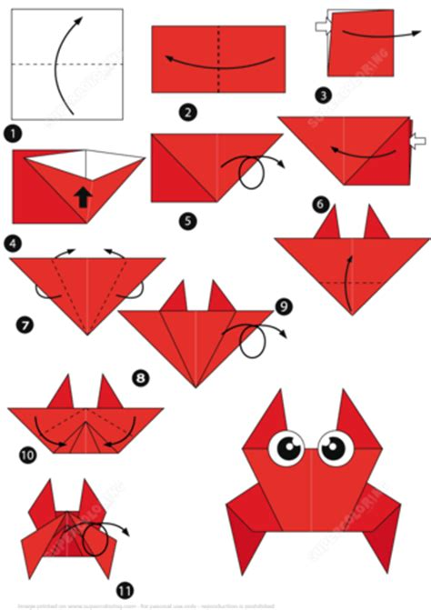 how to make origami fish step by step how to make an origami crab step by step