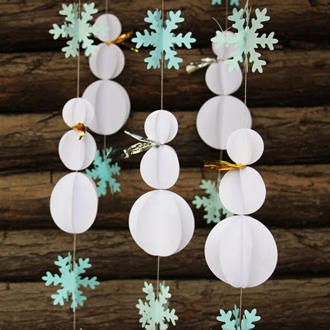 buy paper snowflake decorations compare prices on paper snowflake ornaments