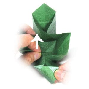 visible origami how to make a closed origami cube page 11